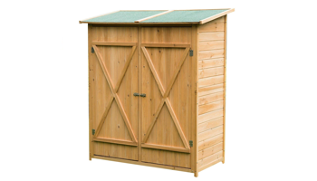 Casetas de jardín de madera Carrefour