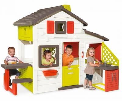 casas jardin para niños